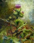Sharen AK Harris - Pink Thistle