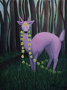 Lisa Tinsley - Pink Woodland Faelope