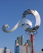 Art In Public Places Sculptures - Pinnacle by Jon Koehler