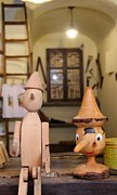 Toy Store Photo Metal Prints - Pinocchio Metal Print by April Antonia