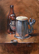 Stein Paintings - Pint of Guinness by Timothy Jones