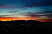 Pintler Sunset  Print by Kevin Bone