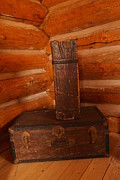 Old Relics Photos - Pioneer Luggage by Jeff  Swan