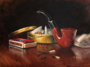 Manly Paintings - Pipe and Tobacco by Timothy Jones