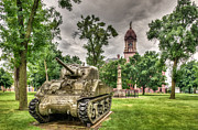 Historic Military Vehicle Posters - Pipestone Courthouse Poster by Paul Freidlund