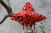 Flower Jewelry Prints - Pipli Lanterns Print by 48craft