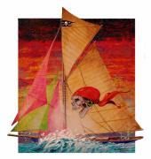 Pirate Passage Print by David  Chapple