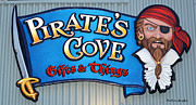 Eatery Digital Art - Pirates Cove by Barbara Snyder