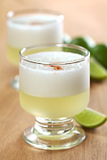 Sour Prints - Pisco Sour Print by Ildi Papp