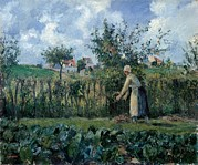Pruning Posters - Pissarro Camille, The Cutting Poster by Everett