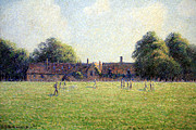 Hampton Court Prints - Pissarros Hampton Court Print by Cora Wandel