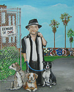 Pitbull Originals - Pit Boss  by Patrice Torrillo