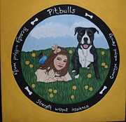 Pitbull Originals - Pitbull by Tammy Rekito