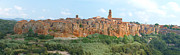 Grosseto Framed Prints - Pitigliano Panorama Framed Print by Alan Socolik