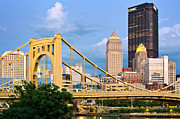 Pittsburgh Framed Prints - Pittsburgh 33  Framed Print by Emmanuel Panagiotakis