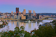 Pittsburgh Framed Prints - Pittsburgh Fall 2013 Framed Print by Emmanuel Panagiotakis