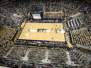 Court Photo Posters - Pittsburgh Panthers Petersen Events Center Poster by Replay Photos