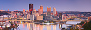 Pittsburgh Art - Pittsburgh Reflections  by Emmanuel Panagiotakis