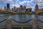 Upmc Metal Prints - Pittsburgh Skyline Metal Print by Ziaur Rahman