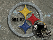 Pittsburgh Steelers Print by Jack Zulli