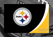 Pittsburgh Prints - Pittsburgh Steelers Print by Joe Hamilton