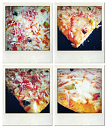 Snack Metal Prints - Pizza Metal Print by Les Cunliffe