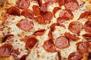 All - Pizza Shoppe Pepperoni Pizza 1 by Andee Photography
