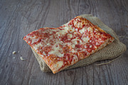 Italian Meal Photo Prints - Pizza slice Print by Sabino Parente