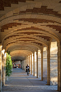Arched Prints - Place des Vosges Walkway Print by Brian Jannsen