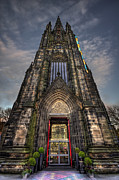 Edinburgh Photos - Place Of Higher Power by Evelina Kremsdorf