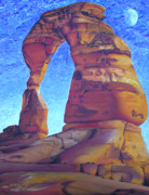 Moab Painting Prints - Place of Power Print by Joshua Morton