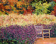 Featured Paintings - Place of Solitude by David Lloyd Glover