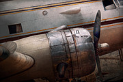 Antique Photo Prints - Plane - A little rough around the edges Print by Mike Savad