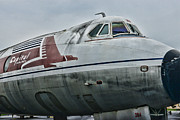 Plane Capital Airlines Print by Paul Ward