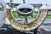 Plane Engine Photos - Plane - Channel Wing Close Up by Paul Ward
