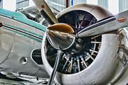 Plane First Class Print by Paul Ward