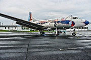 Eastern Air Lines Prints - Plane on the Tarmac Print by Paul Ward