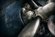 Plane Engine Prints - Plane - Pilot - Prop - You are clear to go Print by Mike Savad