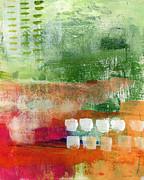 Plantation- Abstract Art Print by Linda Woods
