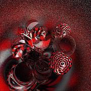 Blood Cells Digital Art Posters - Plasma by jammer Poster by First Star Art