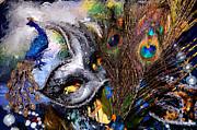 Cindy Nunn - Plasma Peacock