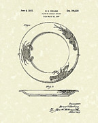Article Posters - Plate 1937 Patent Art Poster by Prior Art Design