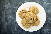 Edward Fielding - Plate of Chocolate Chip Cookies