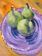 Figs Prints - Plate of Figs Print by Susan Jones