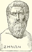 Old Drawings Prints - Plato  Print by English School