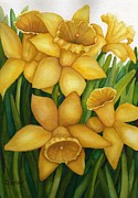 Vikki Wicks - Playful Daffodils