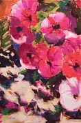 Mary McInnis - Playful Petunias