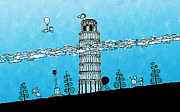 Featured Art - Playful Tower of Pisa by Sanely Great
