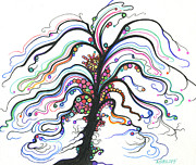 Zany Originals - Playful Tree by Nina Kuriloff