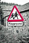 Attention Prints - Playground Print by Tom Gowanlock